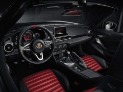 2016 Abarth 124 Spider. Image by Abarth.