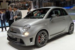 2014 Abarth at Geneva. Image by Newspress.