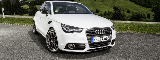 ABT tunes the Audi A1 Sportback. Image by ABT.