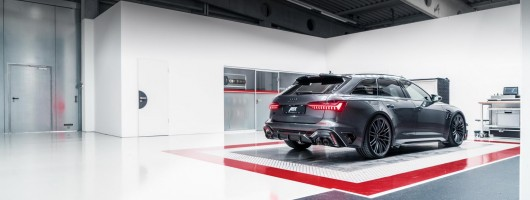 Abt turns 740hp attention to Audi RS 6. Image by Abt.