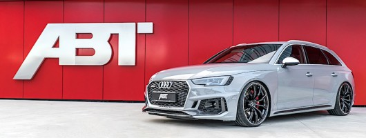 Abt raises bar on Audi RS 4 Avant to 510hp. Image by Abt.
