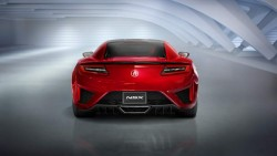 2015 Acura NSX. Image by Acura.