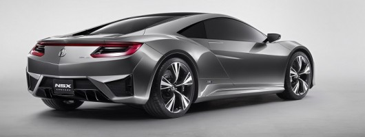 Honda NSX to return to life. Image by Acura.