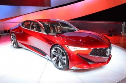 2016 Acura Precision concept. Image by Newspress.
