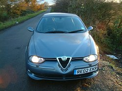 Alfa Romeo 156 GTA. Photograph by Adam Jefferson. Click here for a larger image.