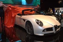 2008 Alfa Romeo 8C Competizione Spider. Image by Shane O' Donoghue.