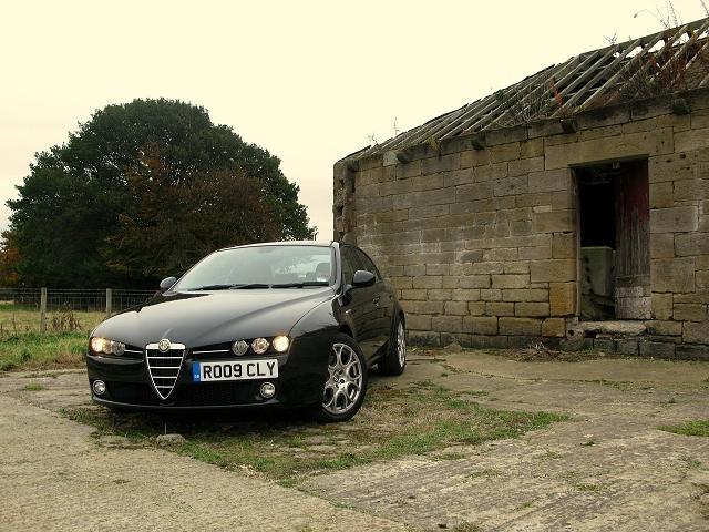 Week at the Wheel: Alfa Romeo 159 1750 TBi. Image by Mark Nichol.