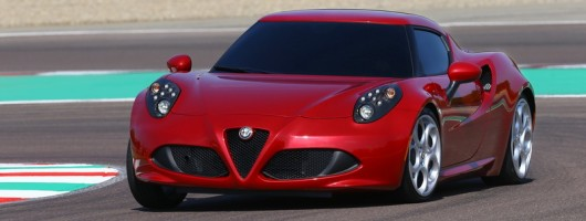 Alfa Romeo 4C to cost £45,000. Image by Alfa Romeo.