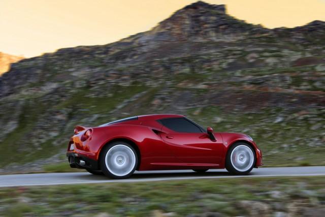 First drive: Alfa Romeo 4C. Image by Alfa Romeo.