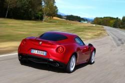 2013 Alfa Romeo 4C. Image by Alfa Romeo.
