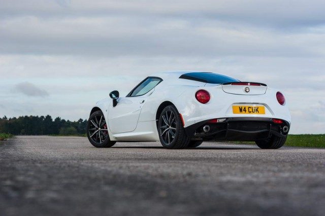 First UK drive: Alfa Romeo 4C. Image by Alfa Romeo.