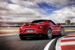 2015 Alfa Romeo 4C Spider. Image by Alfa Romeo.