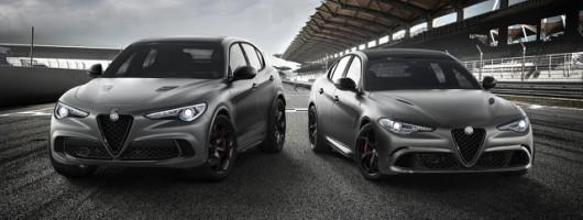 Alfa enhances Giulia and Stelvio Quadrifoglios. Image by Alfa Romeo.