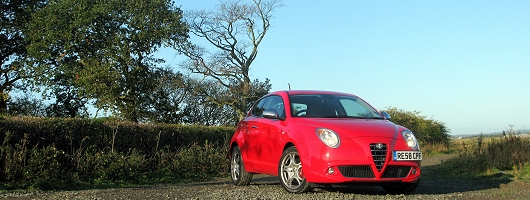 Week at the Wheel: Alfa Romeo MiTo. Image by Mark Nichol.