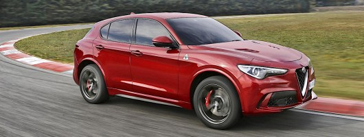 Alfa Romeo reveals finished Stelvio Quadrifoglio. Image by Alfa Romeo.