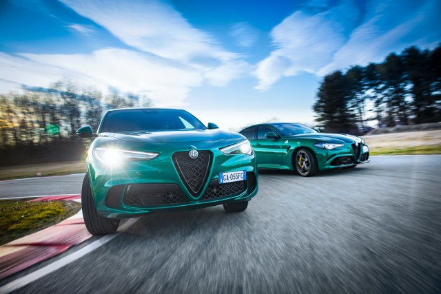 Alfa Romeo revises glorious Quadrifoglios. Image by Alfa Romeo.