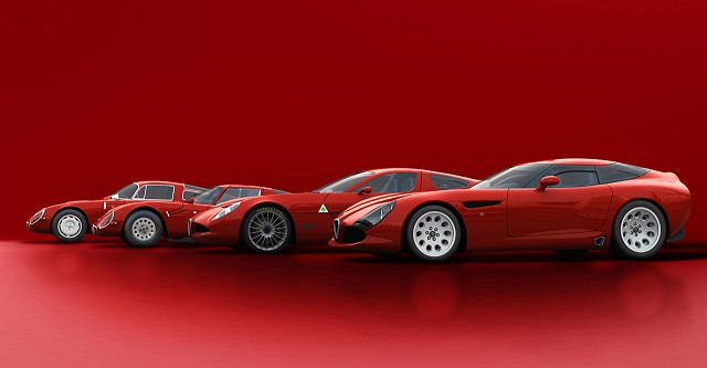 TZ3 Stradale from Zagato. Image by Alfa Romeo.