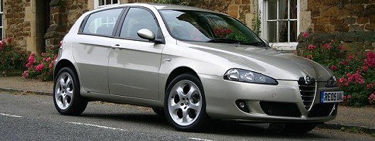 2005 alfa romeo 147 jtd 16v review car reviews by car. Black Bedroom Furniture Sets. Home Design Ideas