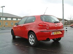 2002 Alfa Romeo 147 2.0TS Lusso. Photograph by Adam Jefferson. Click here for a larger image.