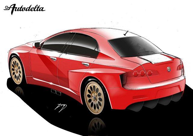 the car enthusiast image gallery 2005 autodelta alfa romeo 157 gta am. Black Bedroom Furniture Sets. Home Design Ideas