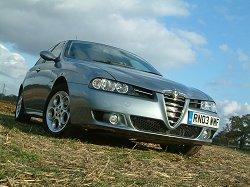 2003 Alfa Romeo 156 Sportwagon 2.0 JTS. Image by Shane O' Donoghue.