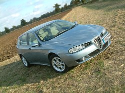 2003 Alfa Romeo 156 2.0 JTS Sportwagon review. Image by Shane O' Donoghue.