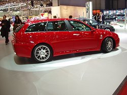 2004 Alfa Romeo 156 Sportwagon GTA - by Autodelta. Image by ItaliaSpeed.