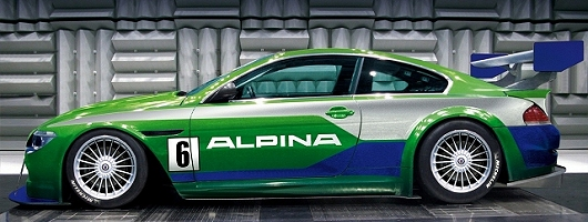 Alpina back on track. Image by Alpina.