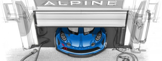 Alpine A110 to compete in one-make race series. Image by Alpine.