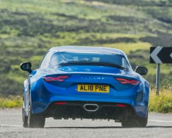 Alpine A110 coupe. Image by Alpine.