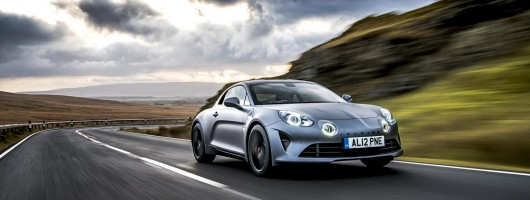 First drive: Alpine A110S. Image by Alpine UK.