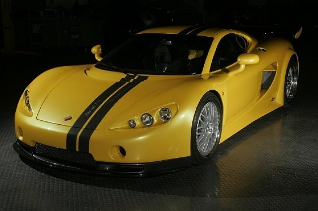 Another Contender for the 200mph Club. Image by Ascari.