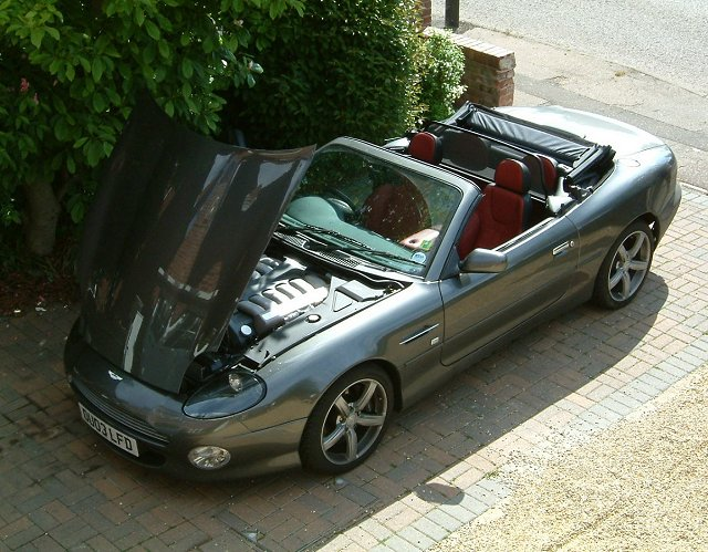 First Impressions 2003 Aston Martin Db7 Vantage Volante News By Car Enthusiast
