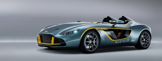 Extreme Aston CC100 revealed. Image by Aston Martin.