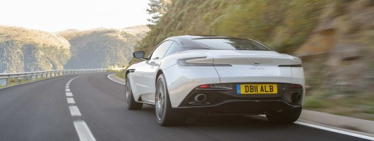 First drive: Aston Martin DB11 V8. Image by Aston Martin.