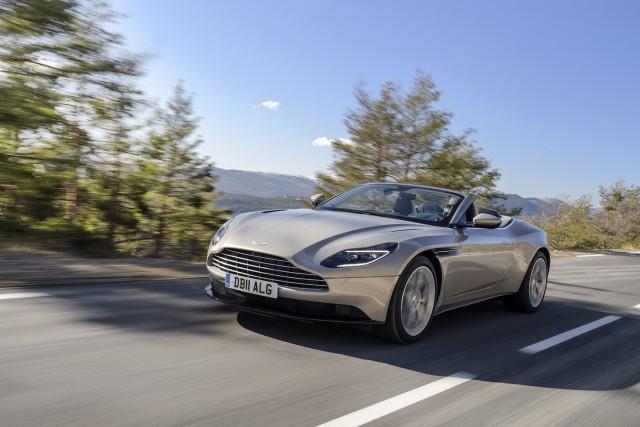 Driven: Aston Martin DB11 Volante. Image by Aston Martin.