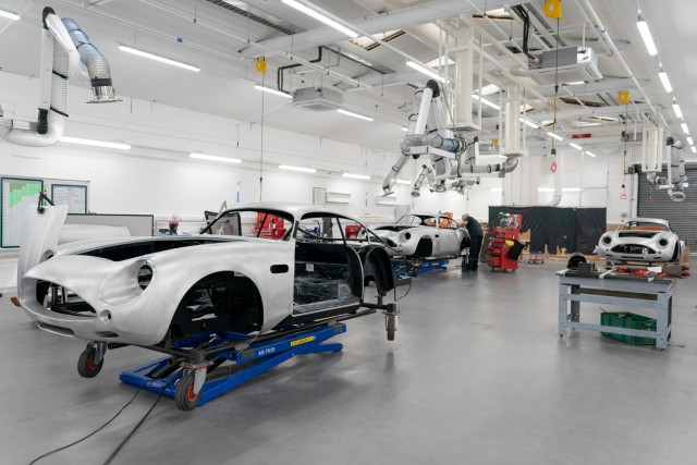 Aston Works begins building DB4 Zagatos in earnest. Image by Aston Martin UK.