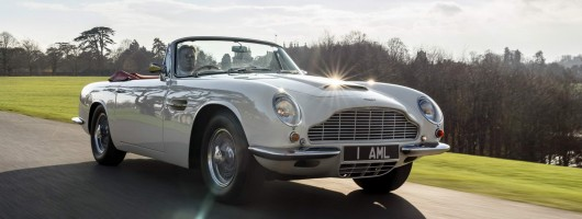 Aston future-proofs its heritage. Image by Aston Martin.