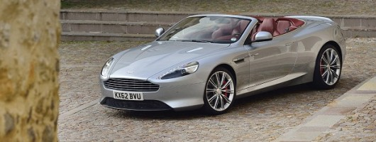 First Drive: Aston Martin DB9 Volante. Image By Max Earey.