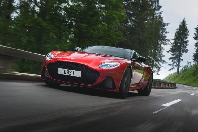 First drive: Aston Martin DBS Superleggera. Image by Aston Martin.