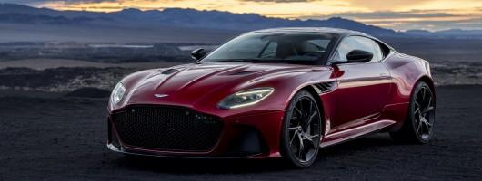 Aston's new DBS Superleggera. Image by Aston Martin.
