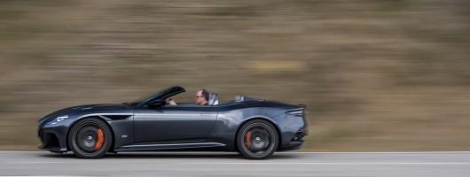 First drive: Aston Martin DBS Superleggera Volante. Image by Aston Martin.