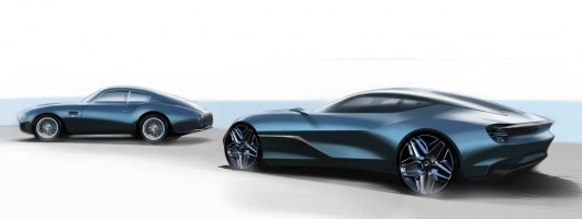 Aston gives glimpse of DBS GT Zagato. Image by Aston Martin.