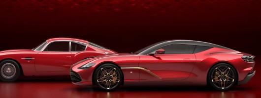 Aston Martin reveals DBS GT Zagato duo. Image by Aston Martin.