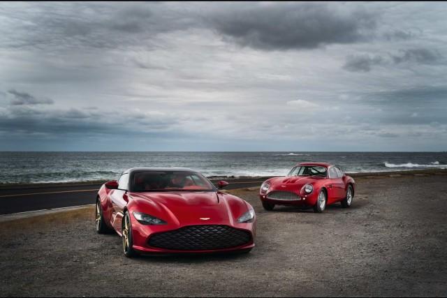 Aston unleashes 760hp DBS Zagato. Image by Aston Martin.