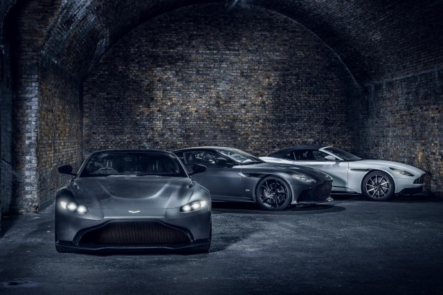 Aston offers succour to customers during crisis. Image by Aston Martin.