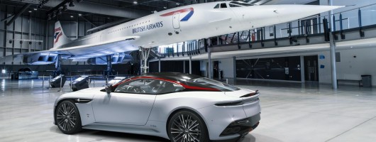 Aston DBS goes supersonic. Image by Aston Martin.