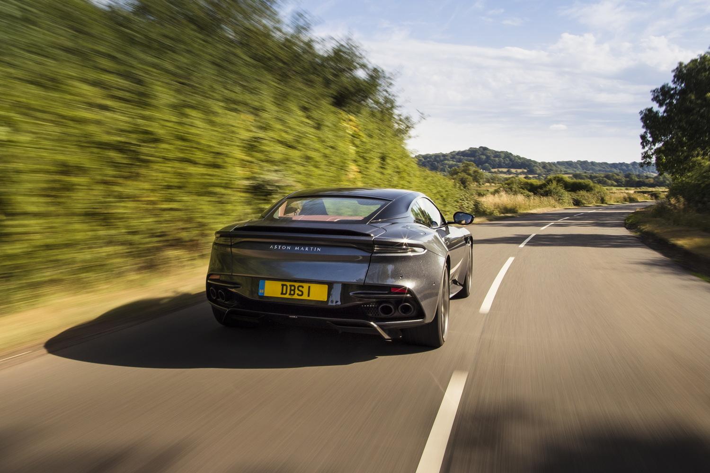 Driven: Aston Martin DBS Superleggera. Image by Aston Martin.