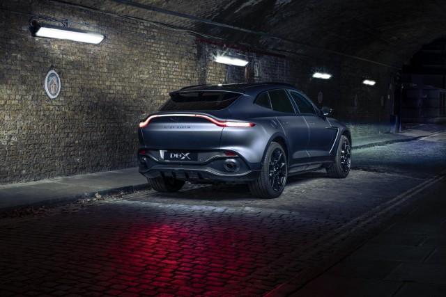 Start Q-ing here for Aston Martin DBX. Image by Aston Martin.