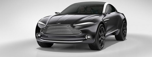 Aston confirms production DBX. Image by Aston Martin.